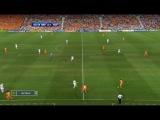 Голландия:Россия.(1:3)Евро-2008.Четвертьфинал.(с небольшими помехами и с небольшой вырезкой,с запозданием картинки)